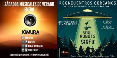 Verano Musical con Soul Robots: ¡No te lo pierdas!