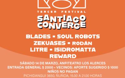 Festival Santiago Converge: primera cita musical 2020 [SUSPENDIDA]