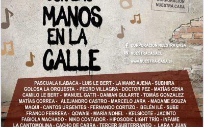 Con las Manos en La Calle: participamos en nuevo compilado